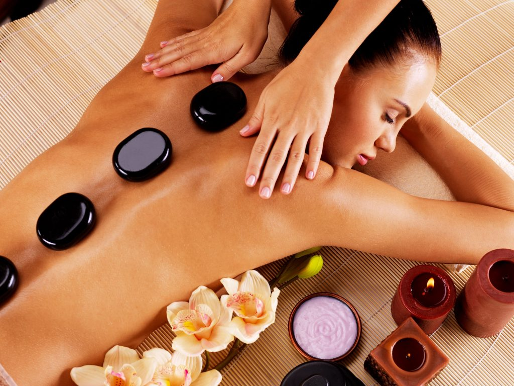 Body Massage - Essential oils